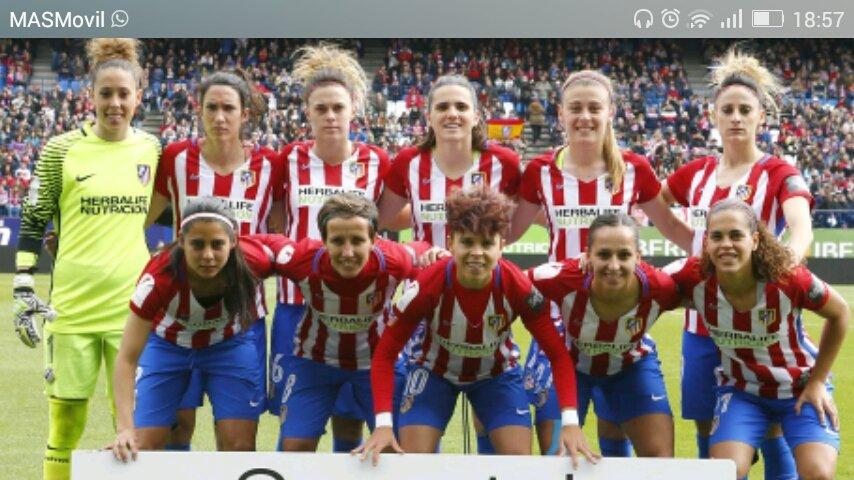equipo femenino de futbol atletico de madrid