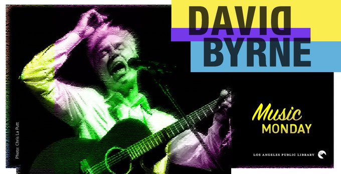 New Blog Post:  Music Monday: Happy Birthday, David Byrne!
