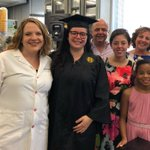 My favorite part of graduation day - getting to meet the parents and family of the amazing students that have trained in my lab! Congrats Monique! She'll be joining #QuaveLab team as a research specialist this summer! #Emory2018 #WomenInSTEM #graduation2018