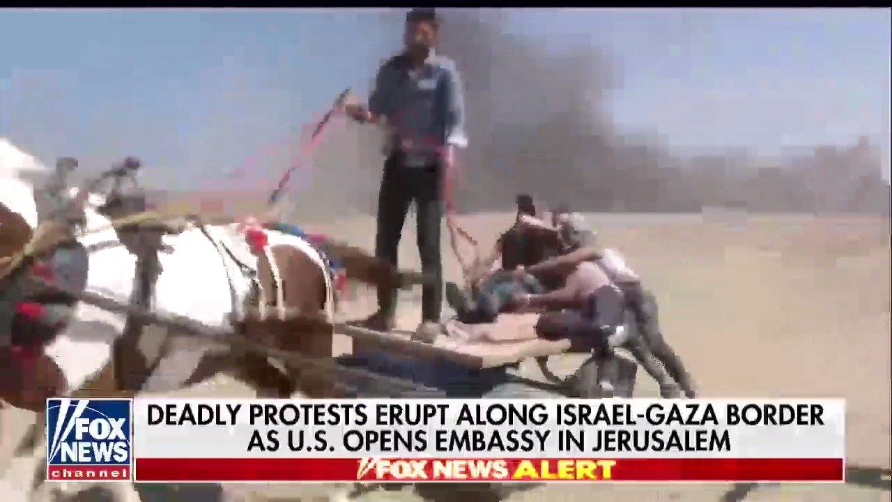 Deadly protests erupt along Israel-Gaza border as U.S. opens embassy in Jerusalem https://t.co/ryDORvdEeq