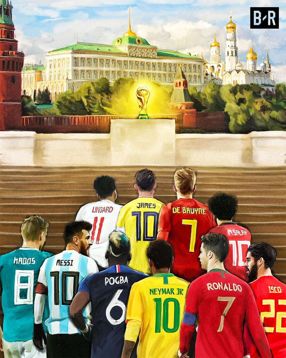 One month until the World Cup 😍