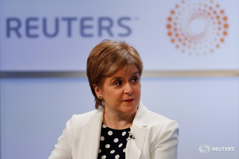 LIVE: Scotland&#39;s @NicolaSturgeon says Trump is keen to proclaim his Scottish ancestry so I am sure he likes Irn-Bru soft drink  https:// reut.rs/2KZZVcg  &nbsp;   #ReutersLive <br>http://pic.twitter.com/DcIyPFJj99