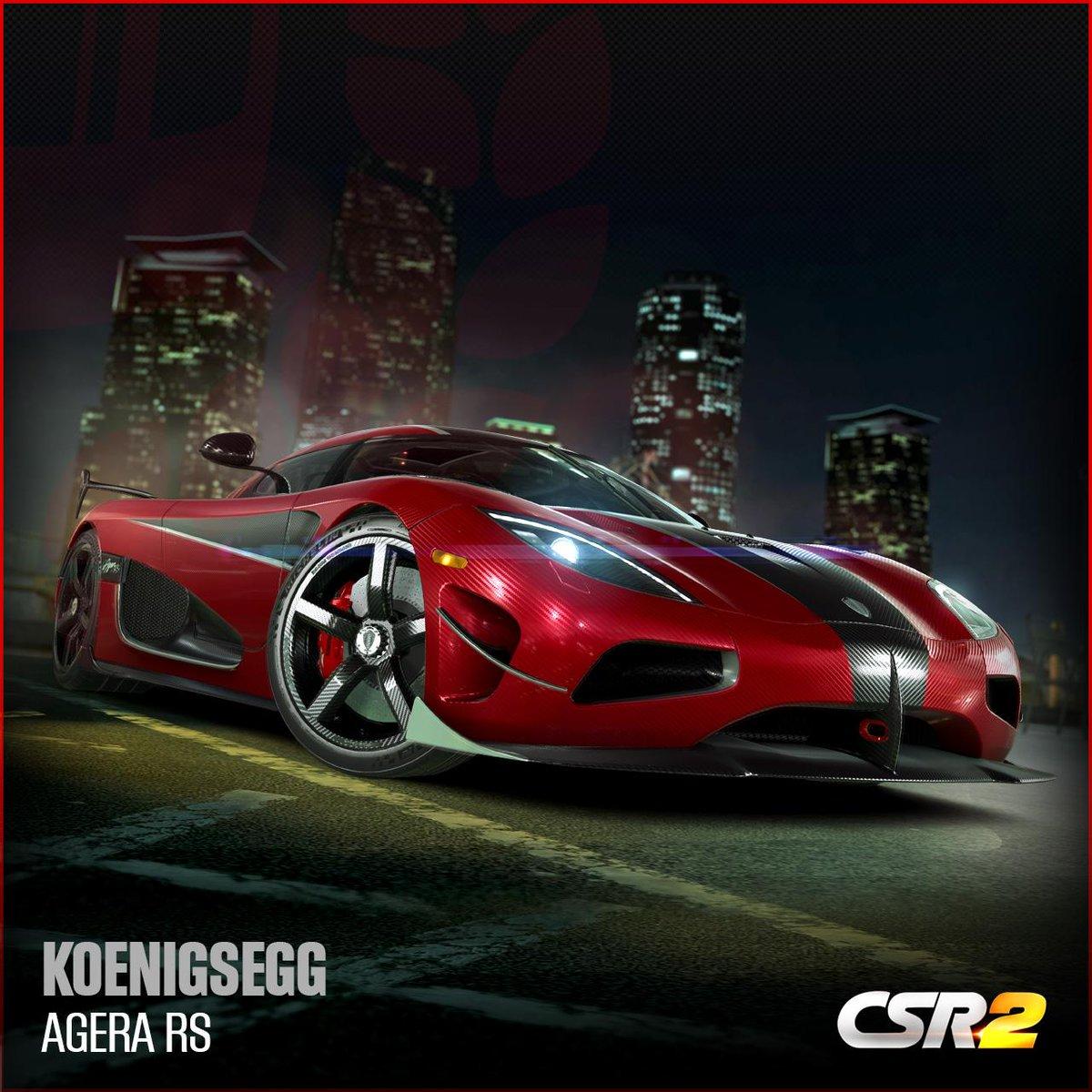 CSR Racing a Twitter: