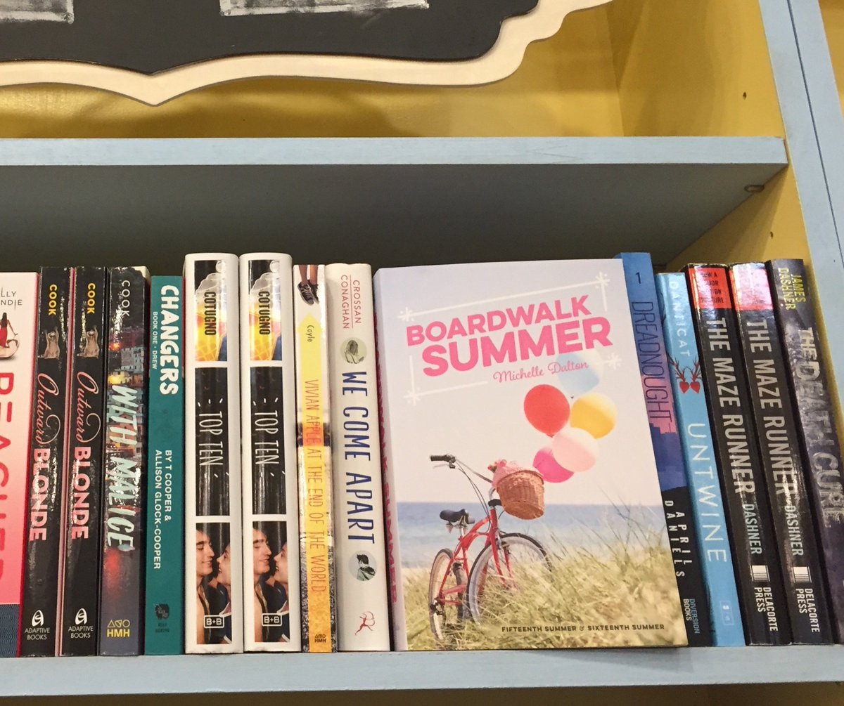 Up Together As BOARDWALK SUMMER And I Just Spotted A Copy In The Wild At Lilshopostories Check It Out Preferably With An Ice Cream Cone Hand