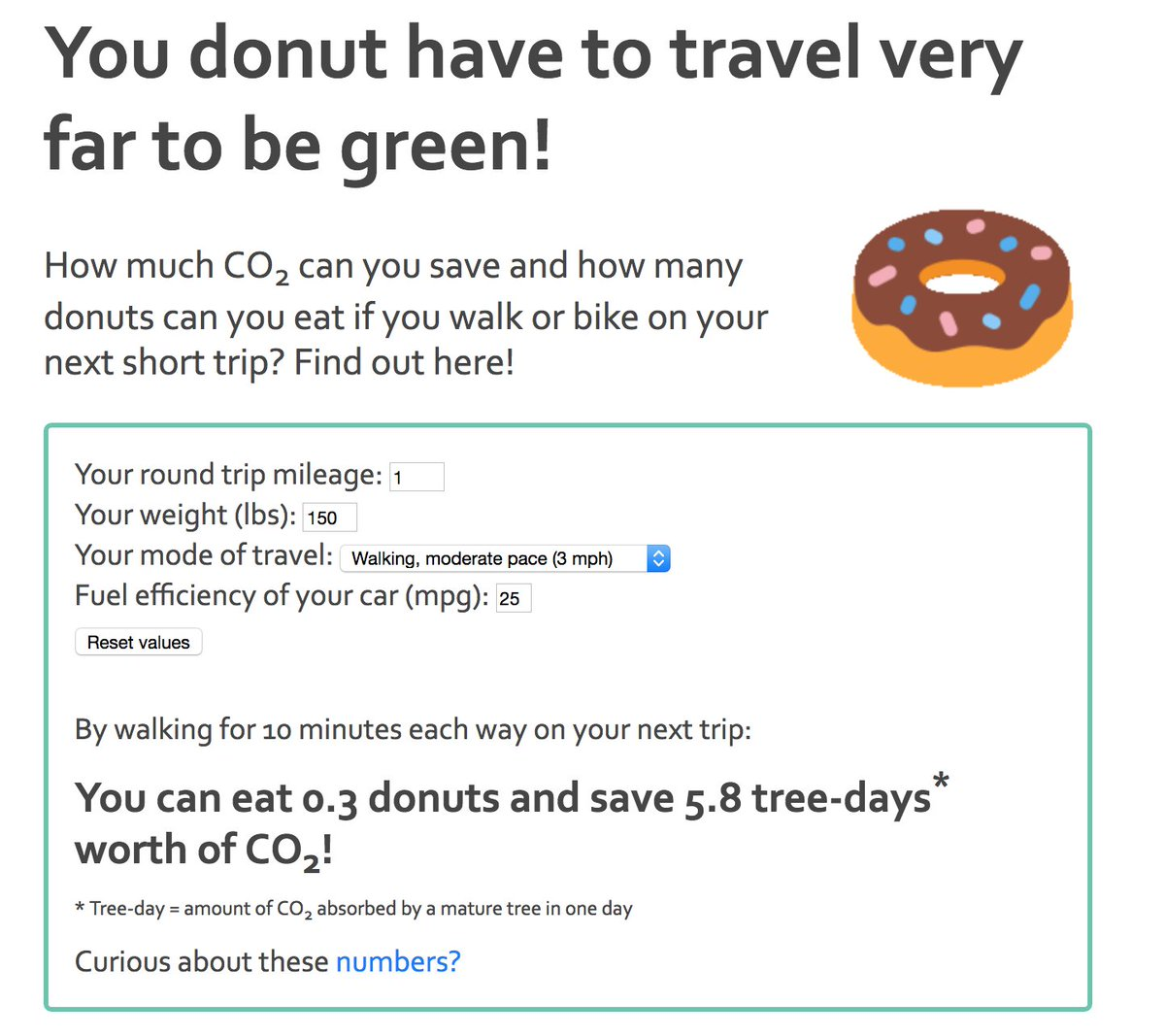 Co2 You Ll Save By Replacing A Short Car Trip With Walk Or Bike Ride Check It Out Here Http Www Pasadenacsc Org Donut Bikesgv Bikela Bikeca