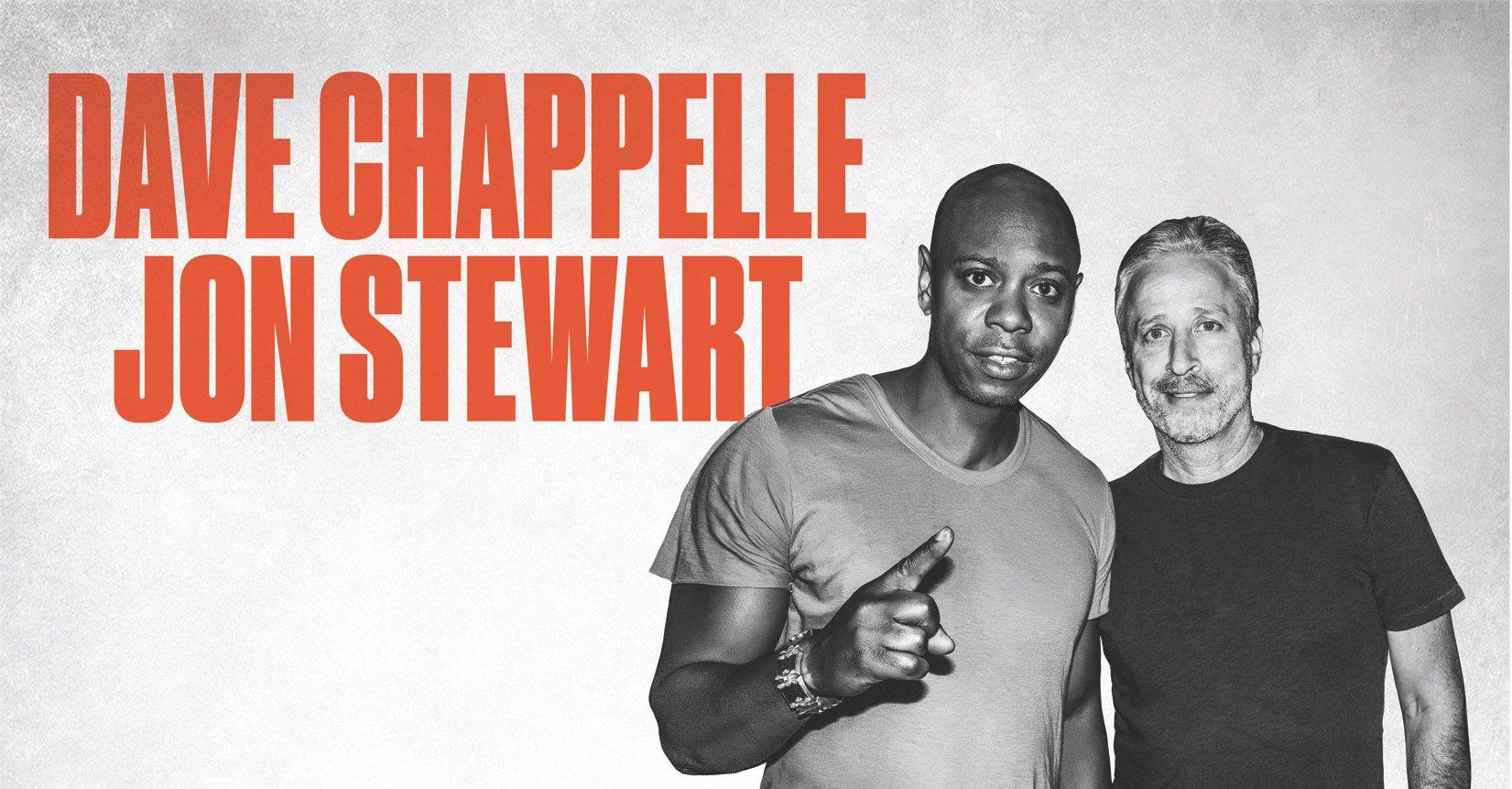 Dave Chappelle and Jon Stewart announce stand-up tour https://t.co/kgvGskku2Q https://t.co/vjZMvYvsr7
