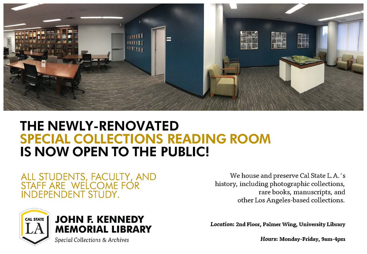 Cal State La University Library On Twitter Looking For Quiet Places To Cram For Finals This Week Look No Further