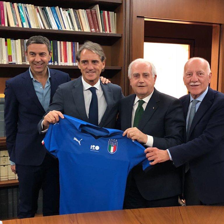 ოფიციალურად: იტალიის ნაკრებს ახალი მწვრთნელი ჰყავს