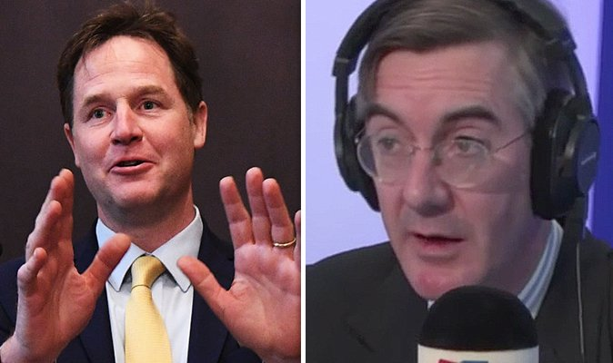 'Oh dear, I agree with Nick Clegg!' Rees-Mogg SHOCK when he finds rival shares same view https://t.co/pIpI5krdXo