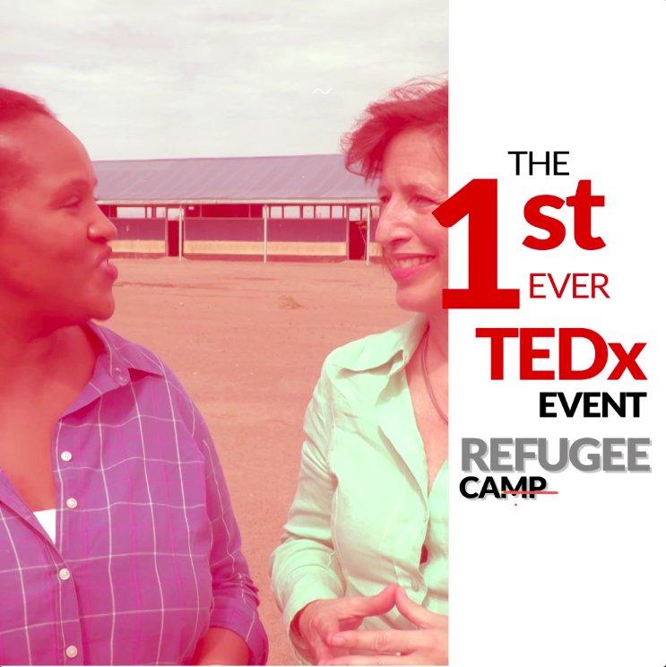 #TEDxKakumaCamp takes place at Kakuma Refugee Camp in Kenya on Saturday, 9 June 2018. We'll be livestreaming the event across digital platforms. Save the date! #TEDx  tedxkakumacamp.org
