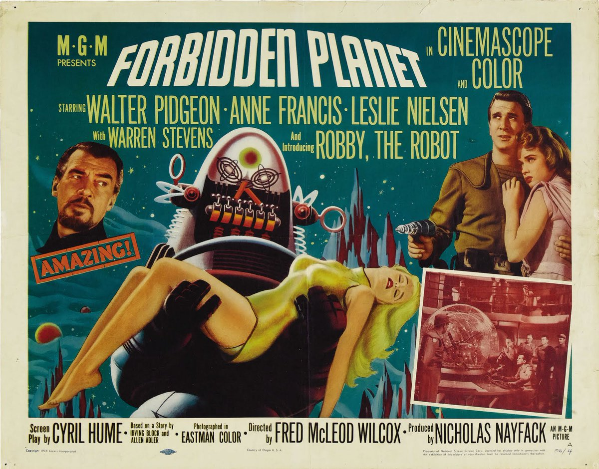 Mark collins on twitter movies great to see 1956 mark collins on twitter movies great to see 1956 forbiddenplanet on list would serve as the blueprint for a slew of scifi films tv shows in its malvernweather Image collections