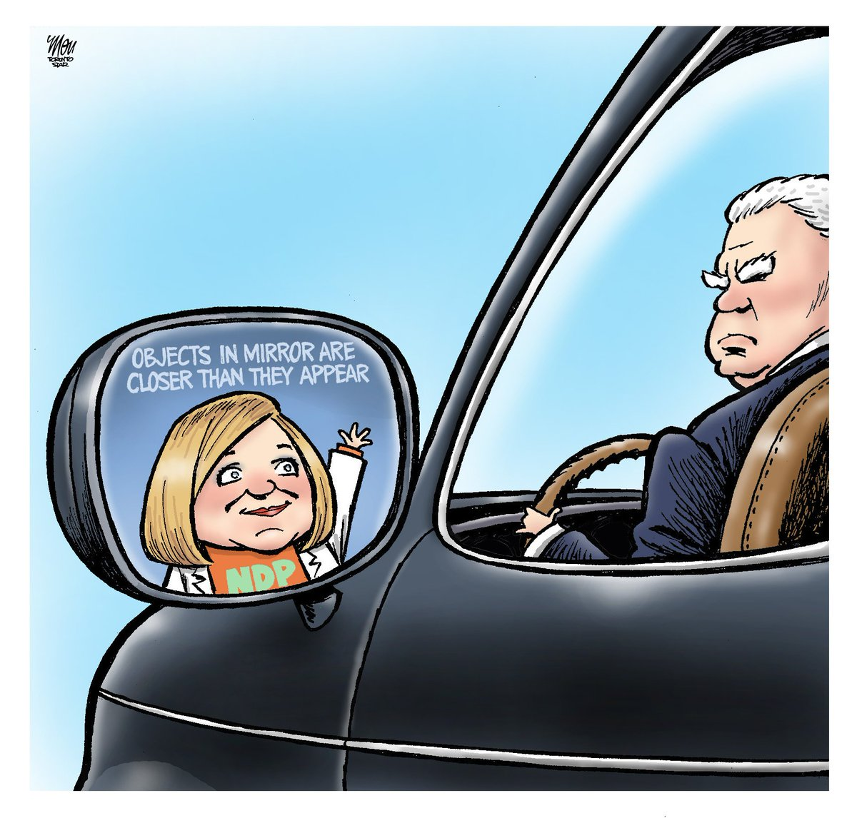 Here's Tuesday's #onpoli cartoon in @TorontoStar #OntarioElection2018