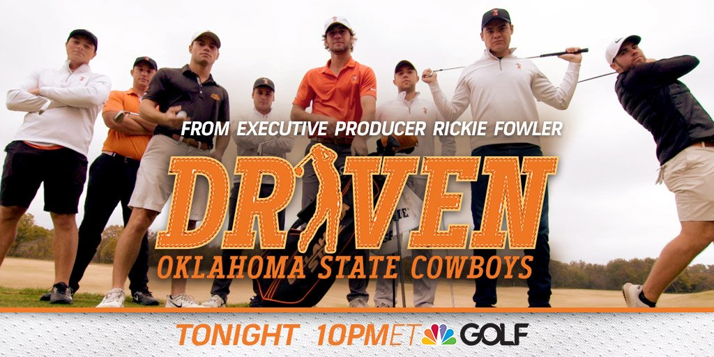 The journey continues: #DrivenGC from executive producer @RickieFowler tonight at 10pm ET ✨