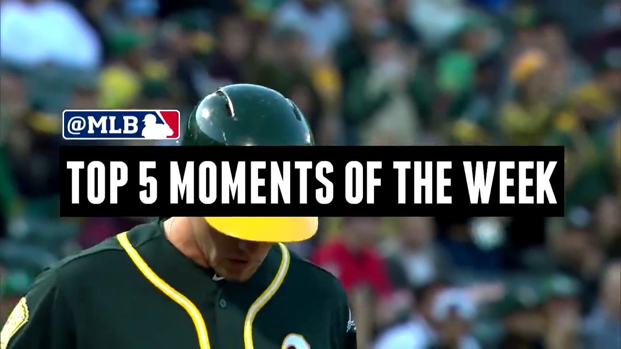 Baseball just gets crazier and crazier.  What were your Top 5 Moments? https://t.co/w9UmYzYgIy