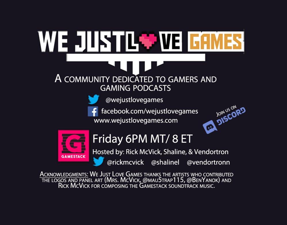 We Just Love Games (@wejustlovegames) | Twitter