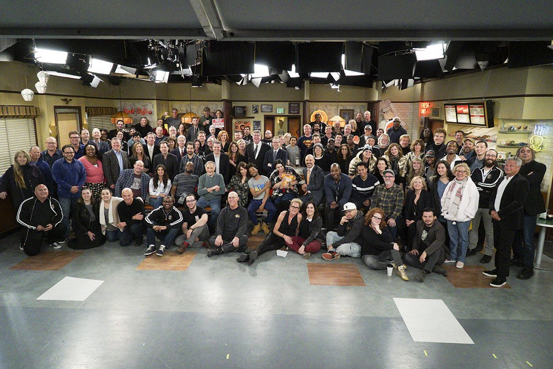 I wanted to thank everyone that watched @superiordonuts and live tweeted with me week after week. Also, a special thank you to the great cast and crew! @jermaineFOWLER @DavidKoechner @MazJobrani  @RellBattle @dianeguerrero__ #JuddHirsch #superiordonuts<br>http://pic.twitter.com/CMykf2W0m6