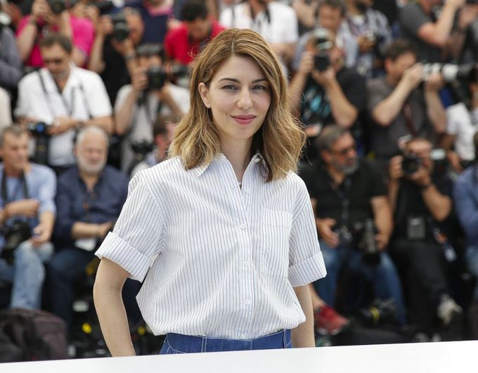 "Happy Birthday to Director Sofia Coppola! Alden had a small role in her film ""Somewhere\""!"