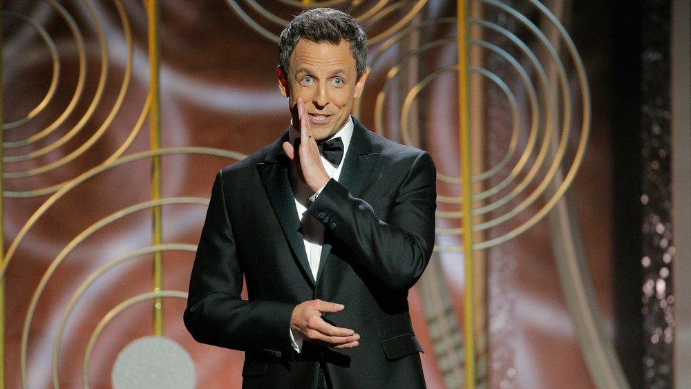 Here are the best jokes from @sethmeyers' #NBCUpfront presentation https://t.co/KSOBRQmqcw https://t.co/F7jraWRfOv
