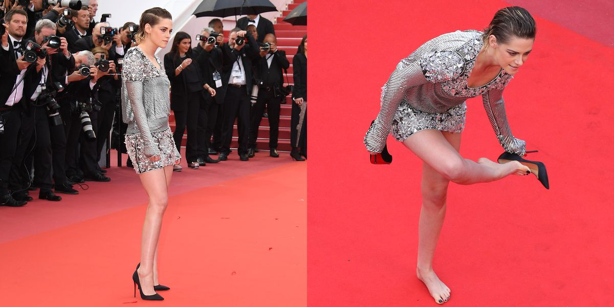 Kristen Stewart, Icon, Took Off Her Heels, Walked the the Cannes Red Carpet Barefoot https://t.co/mE6BUrx2IV