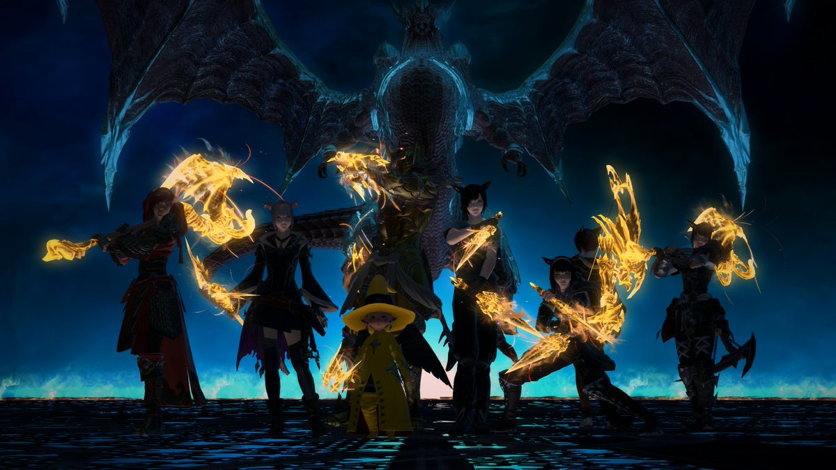 """Lane on Twitter: """"ucob downed, 4 and a half months since i started playing  FFXIV thank you my friends! @ArtharsFF14 @ffxivAriaFreya @Miunih  @TrafalgarBilly… https://t.co/uVokMShARj"""""""