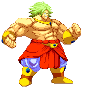 Gate On Twitter My Take On Broly On Z2 Style Using Monk From