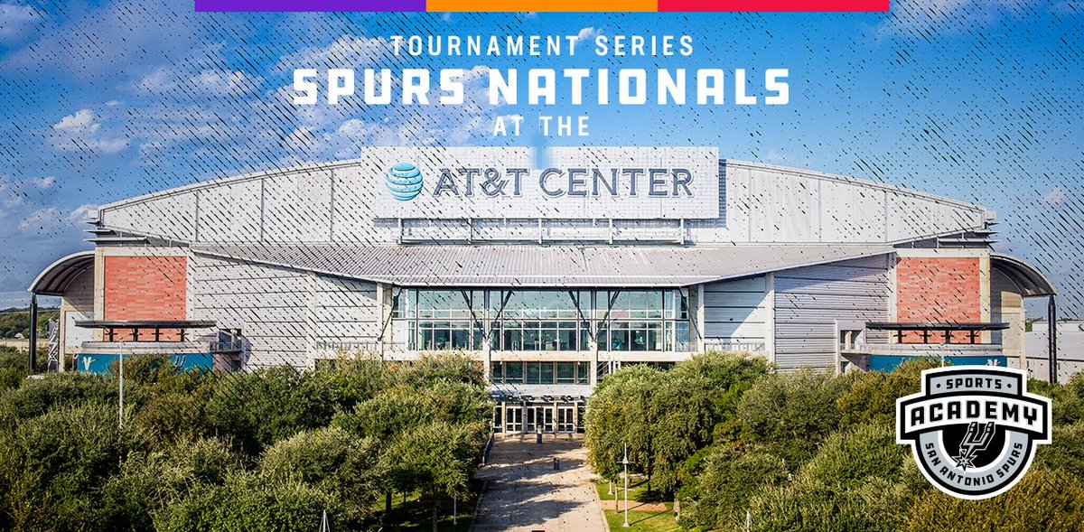 Spurs Nationals is set for early July!  More: gospu.rs/2IBY27k