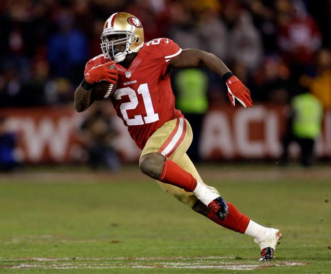 Happy Birthday to 49ers, Colts and Dolphins RB Frank Gore