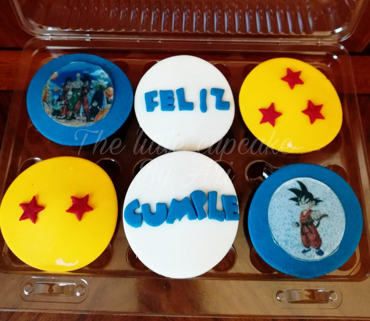 The Little Cupcake On Twitter Cupcakes Dragon Ball