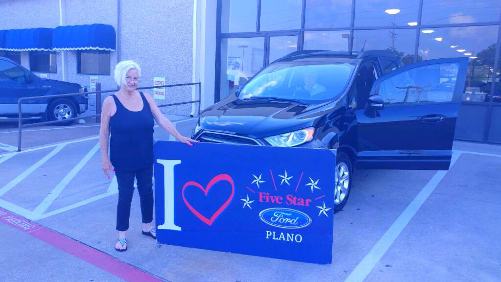 Five Star Ford Plano On Twitter Sandra Said Yes To Ecosport
