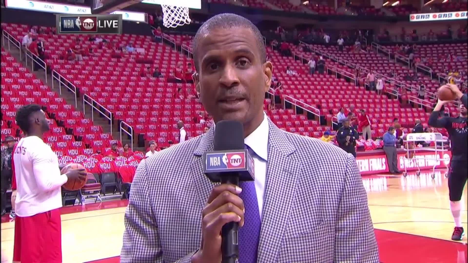 'It's time to play.'  @daldridgetnt gets you set for Game 1 with a sideline update! https://t.co/ipF8wGEgGA