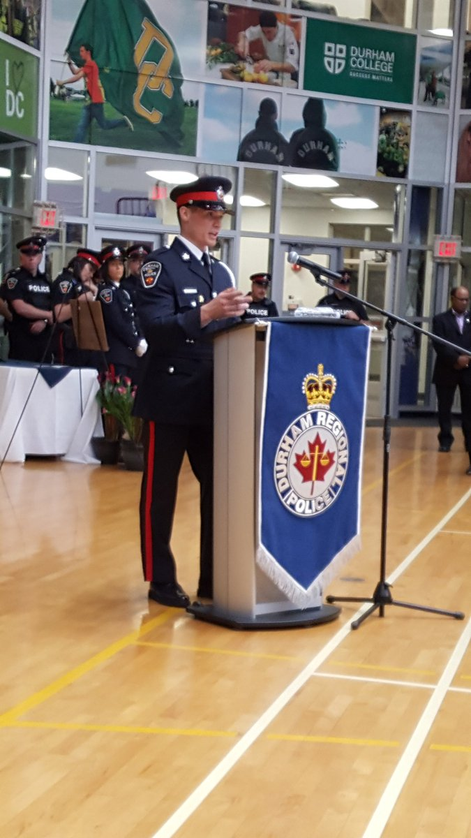 Empathy Lessons Training Police To >> Durham Regional Police On Twitter Recruit Travis Rodgers Speaks On