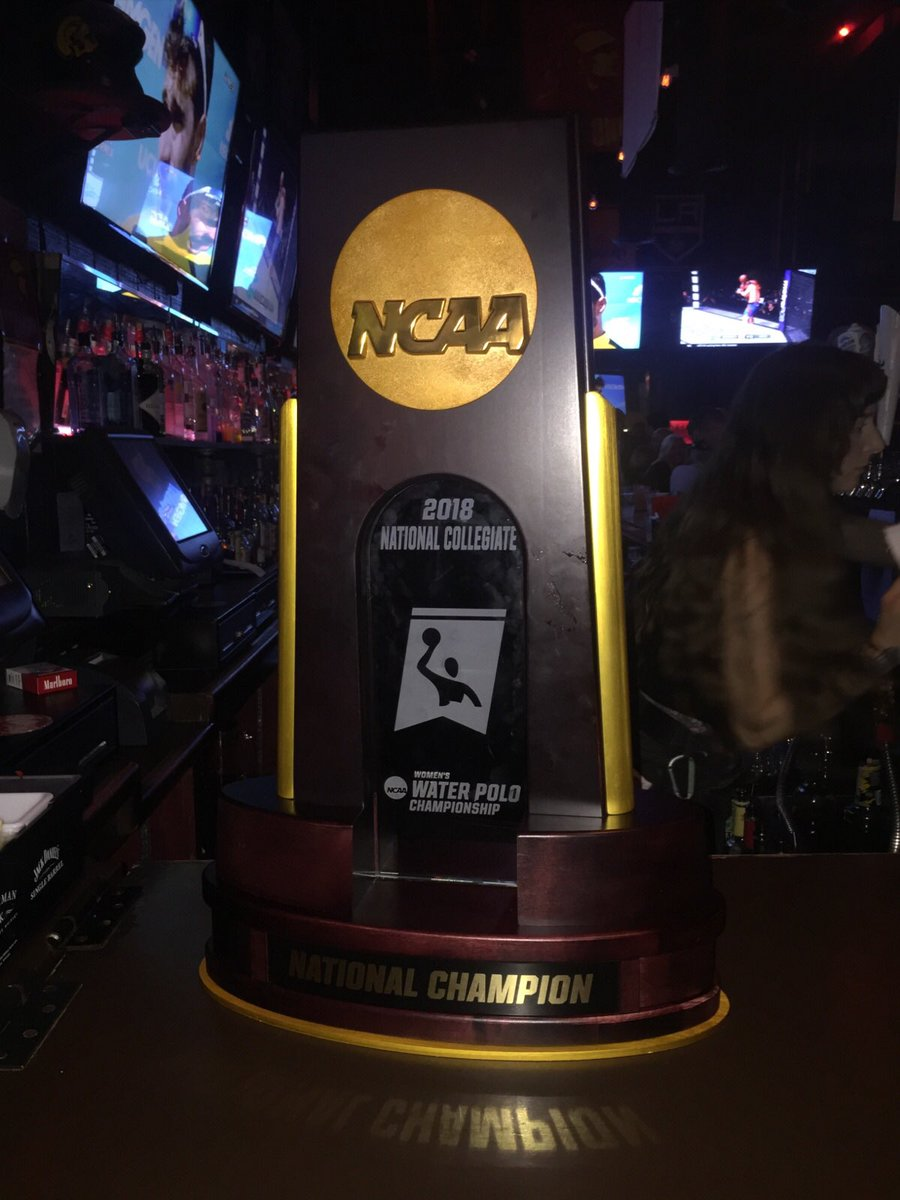 901 Bar Grill On Twitter Congrats To The 2018 National Champion USCWaterPolo Womens Squad FTFO