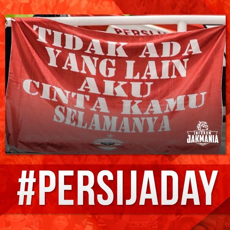 The Jakmania On Twitter Persija Day Tidak Ada Yang Lain Aku Cinta Kamu Selamanya Persija Persijaday Infokomjakmania