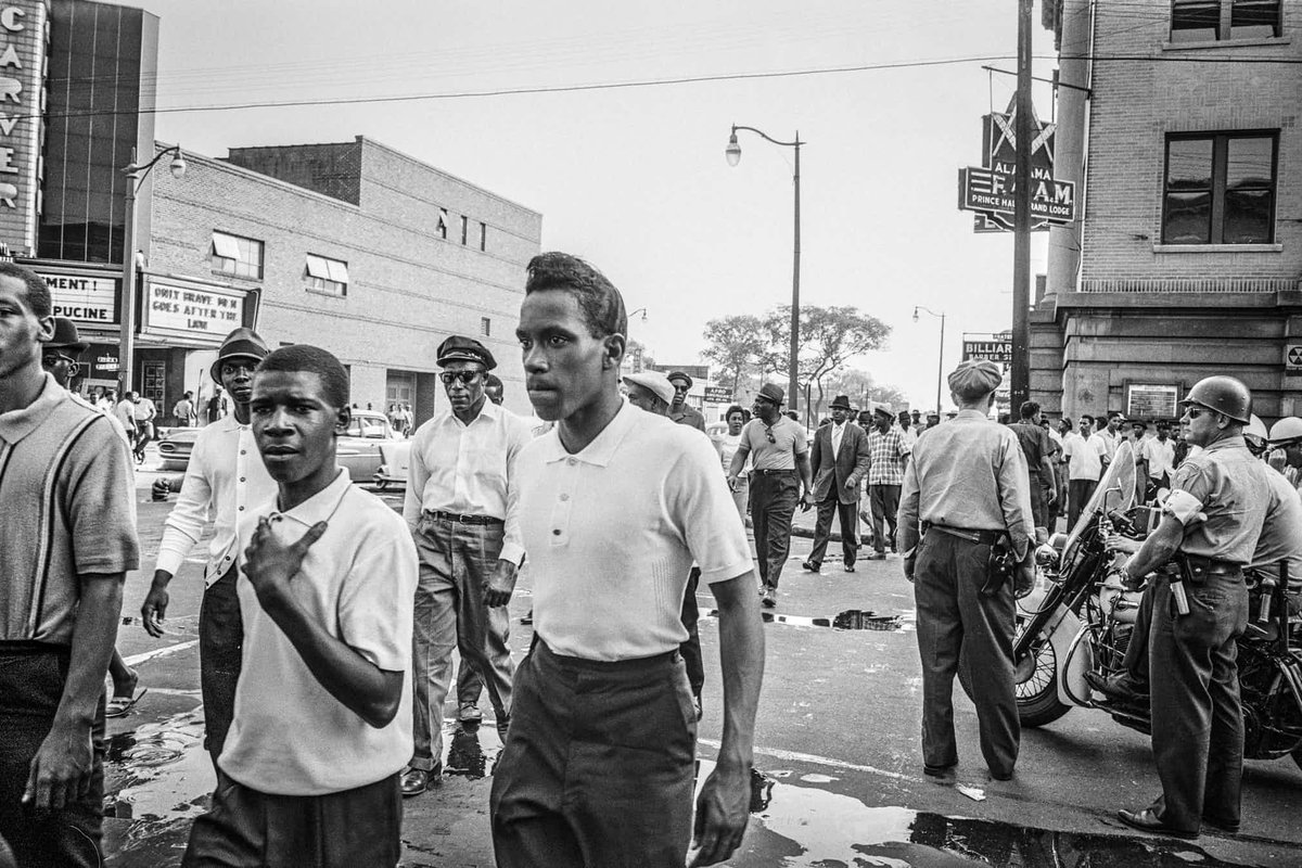 birmingham alabama 1963 Birmingham, alabama -- tommy langston only had a chance to shoot one picture by the next day, though, that photograph would be on the front pages of newspapers around the world, an indelible.