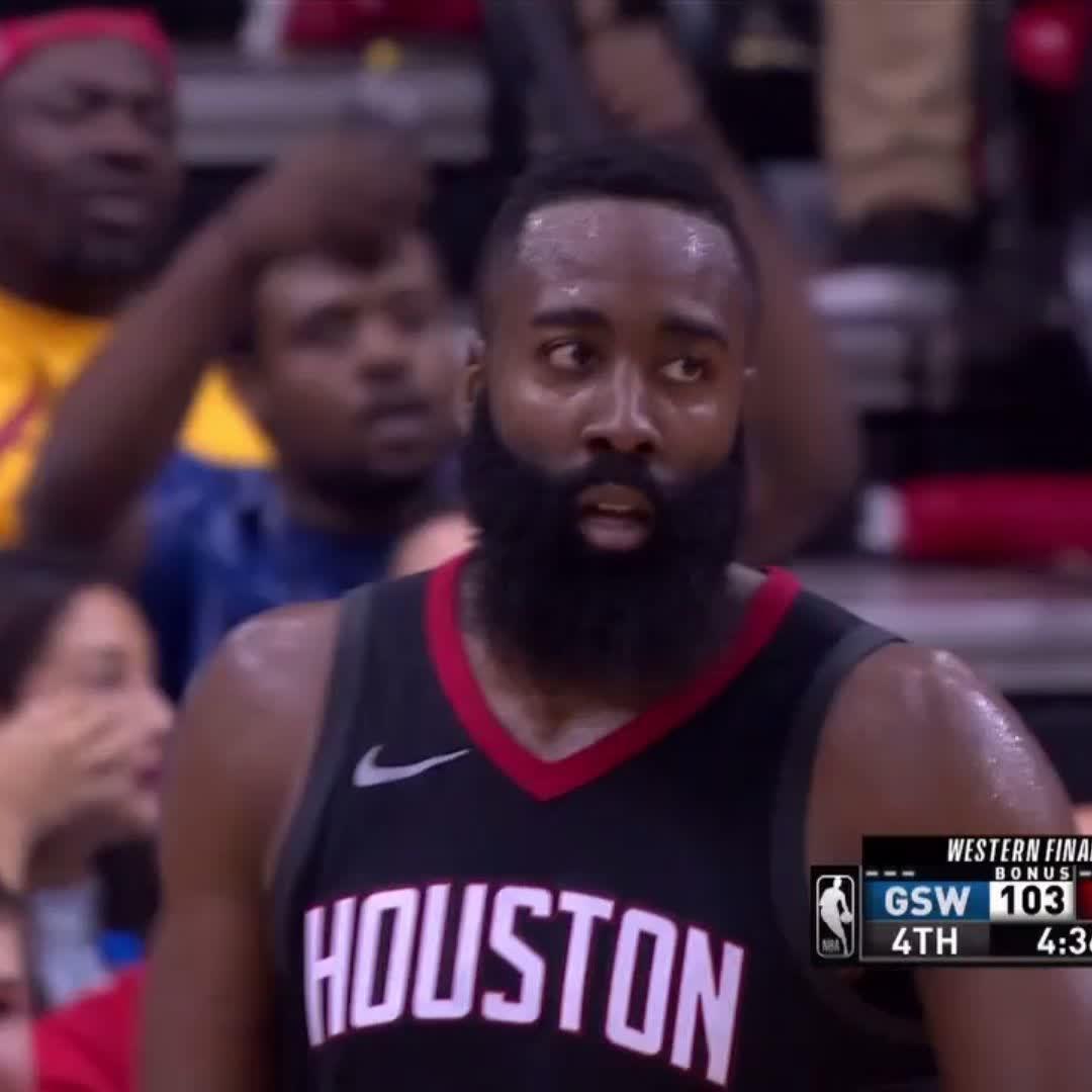The Beard ballin' ��  He's up to 39 PTS!   #NBAPlayoffs | #Rockets https://t.co/KQTY6aSegj