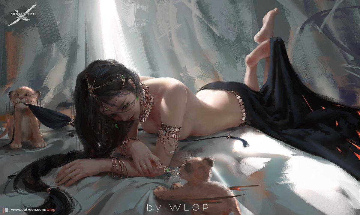 WLOP's tweet -