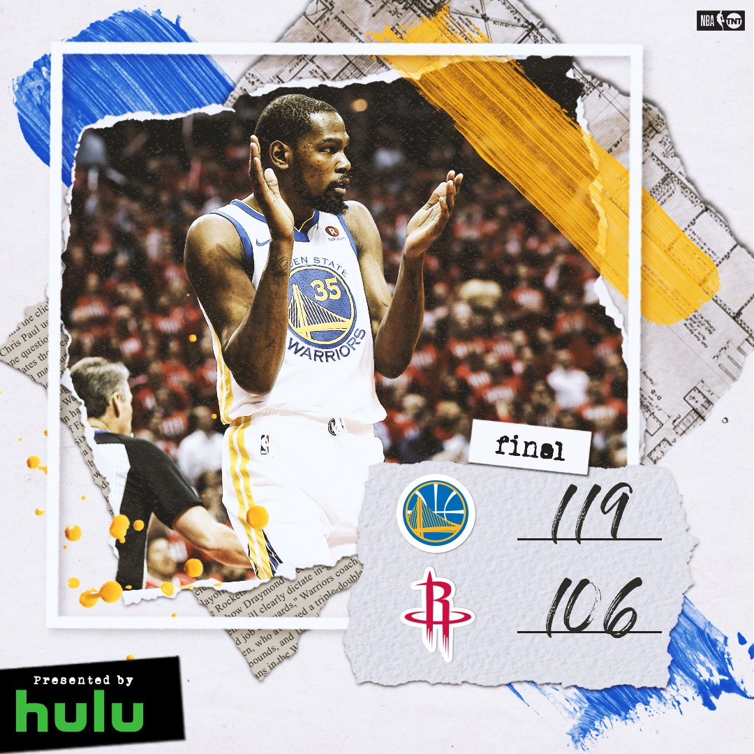 .@warriors steal Game 1 on the road!  #NBAPlayoffs | #DubNation https://t.co/Eg5rzKlHJn