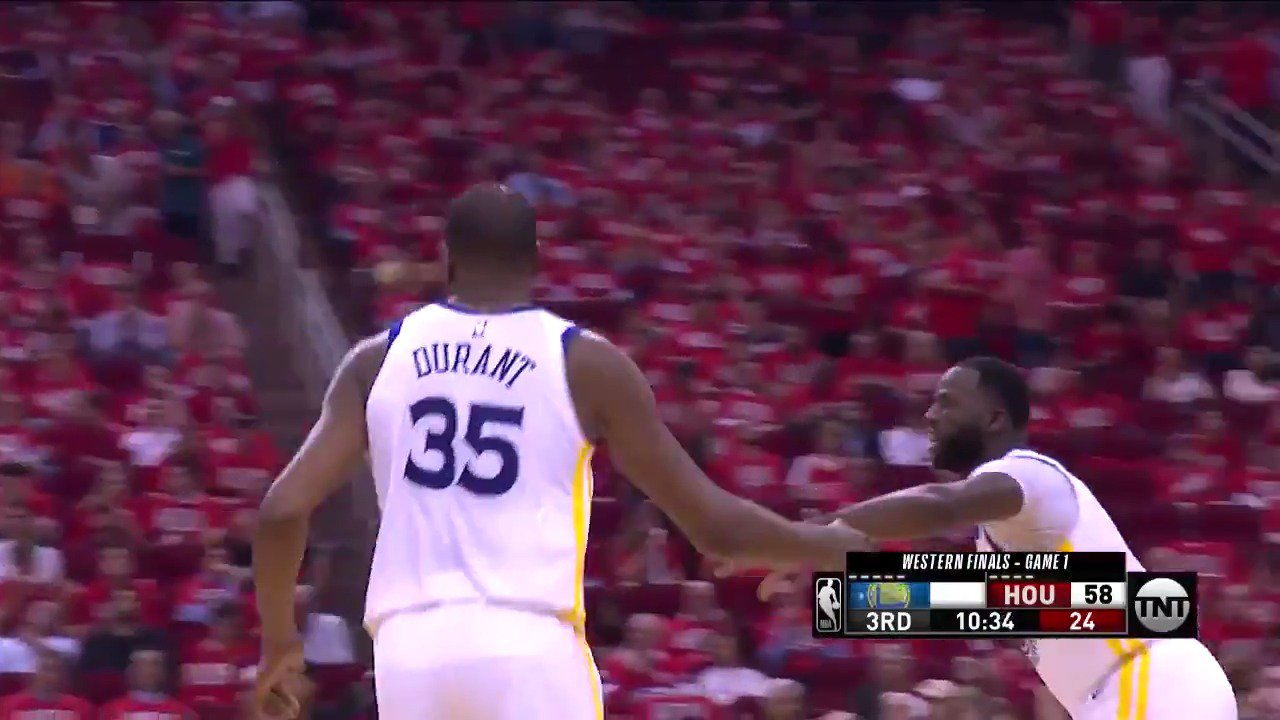 .@KDTrey5 (37 PTS) couldn't be stopped in Game 1 ��   #NBAPlayoffs | #DubNation https://t.co/k04uhx1eMu