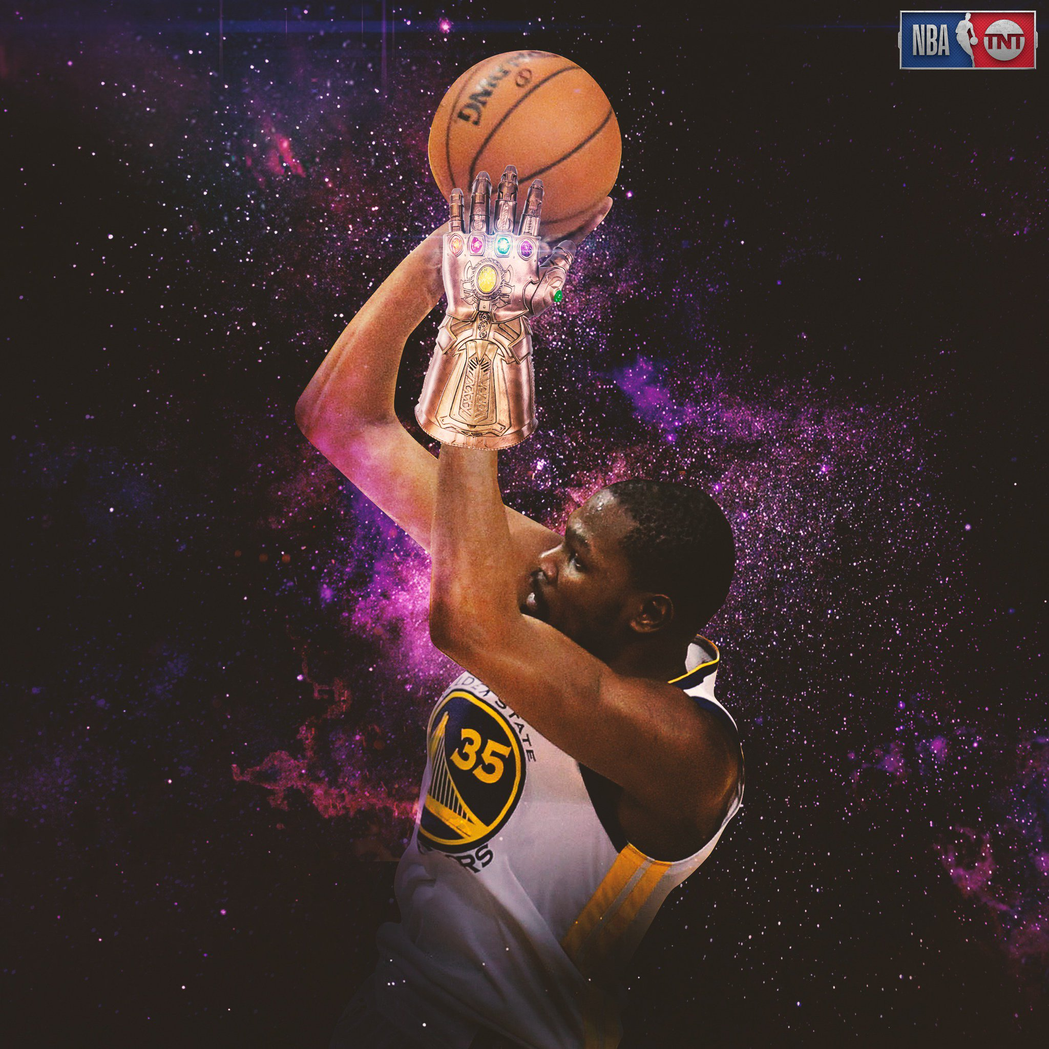 KD was unstoppable tonight. ��  #NBAPlayoffs https://t.co/sXv6GW1qxt