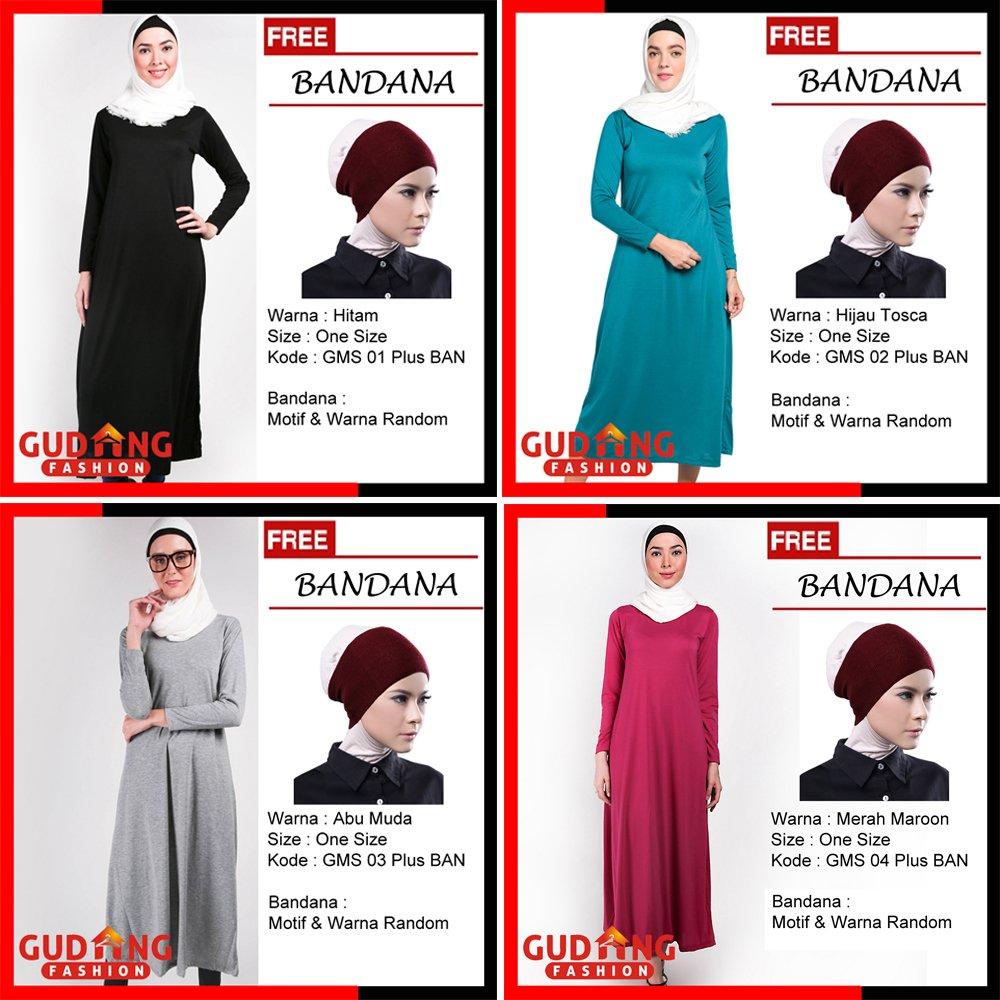 Gudangfashionid On Twitter Baju Gamis Murah Muslimah Terbaru Plus  03 Free Bandana Gamispolos Gudangfashion Bajumuslim Ramadhan Idulfitri