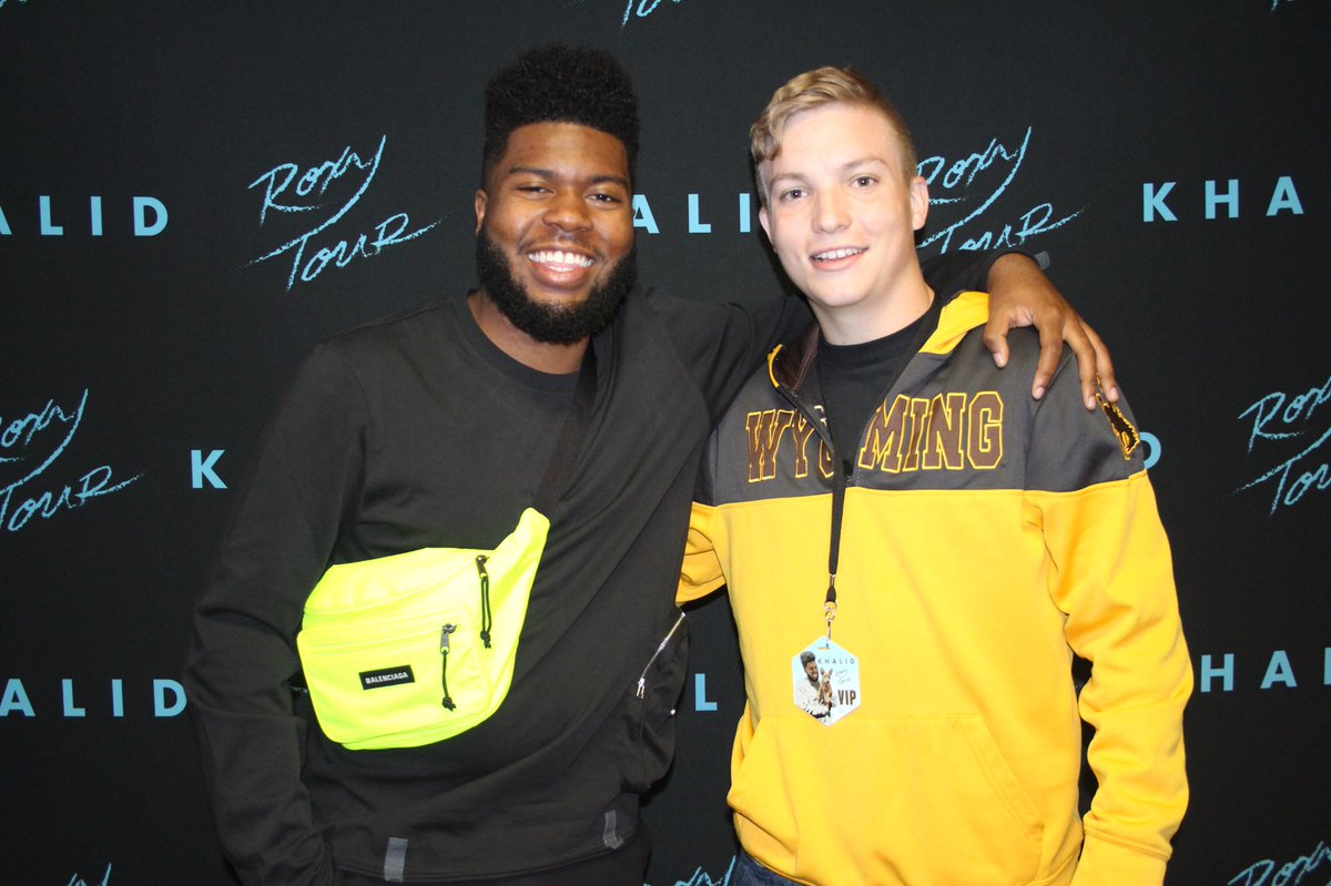@thegreatkhalid is the most down to earth and loving guy ever. He actually cares and talks to who he meets.