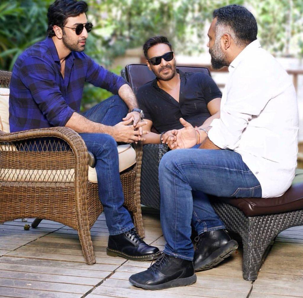 ranbir kapoor ajay devgn story sittings with luv ranjan