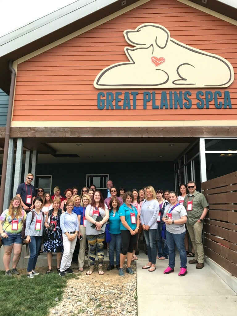 Many thanks to @GreatPlainsSPCA for hosting a learning lab yesterday at #AnimalCareExpo! ������ https://t.co/G9Ihdcr91A
