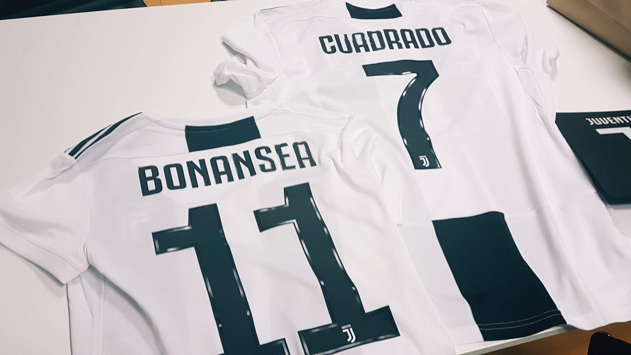 Camiseta Juventus 2018