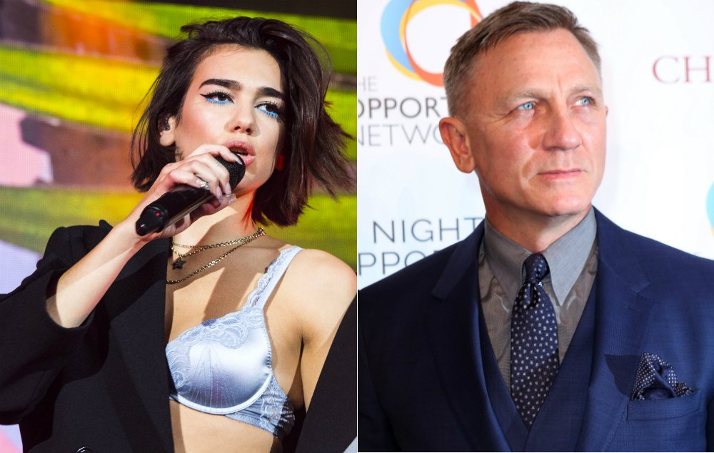 Dua Lipa to record new James Bond theme song? https://t.co/sJkIvdwTxy https://t.co/DH0a9H8Xe1