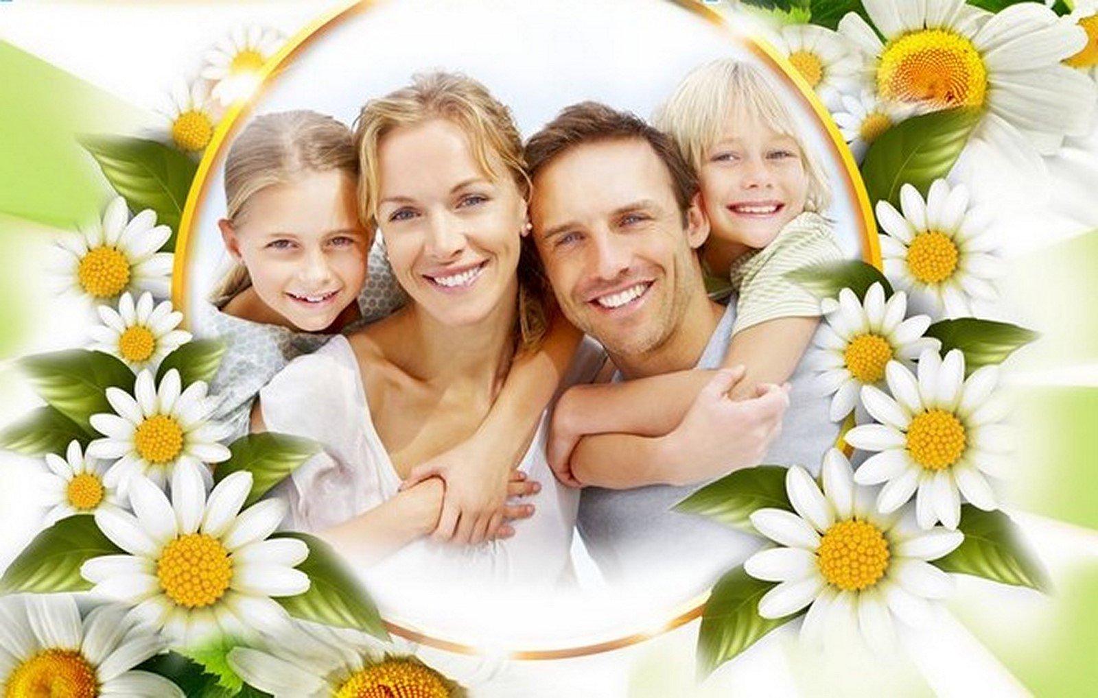 Картинках новые, счастливая семья открытка