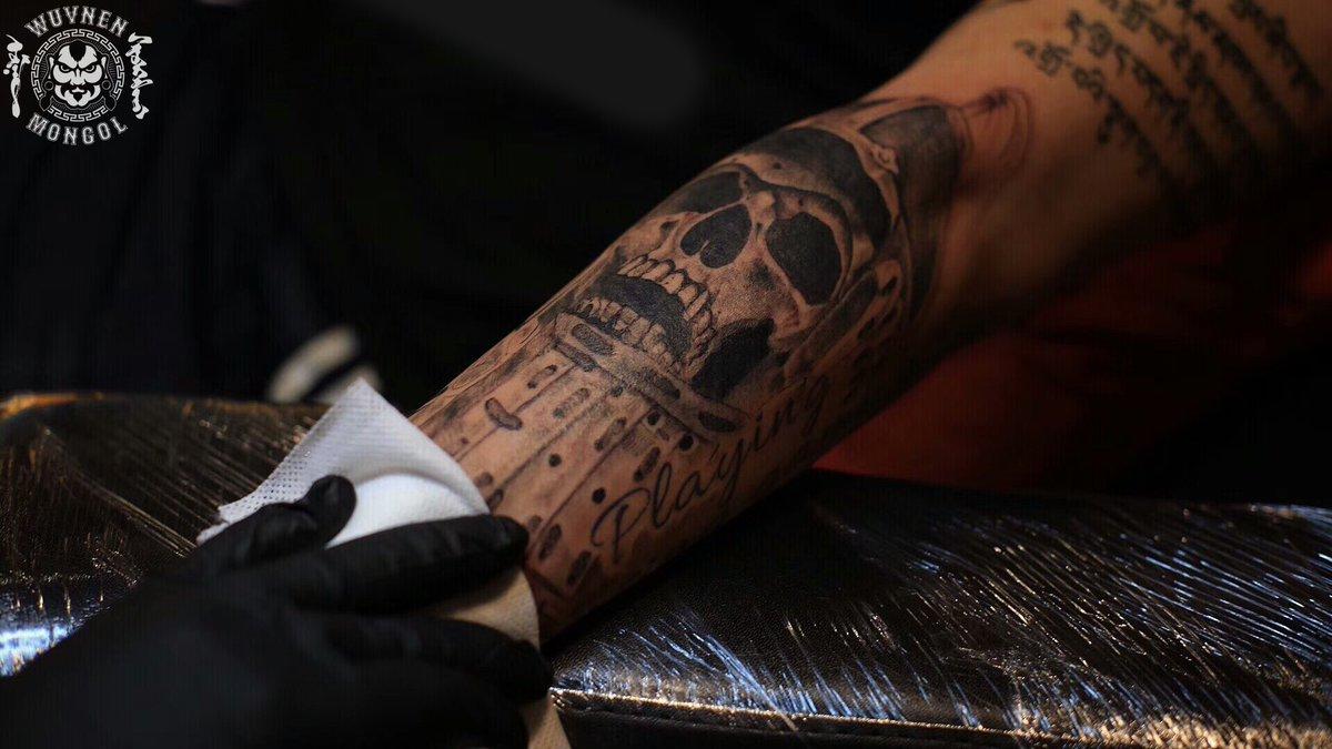 e3c425b56 Mongol Wuvnen Tattoo Studio on Twitter: