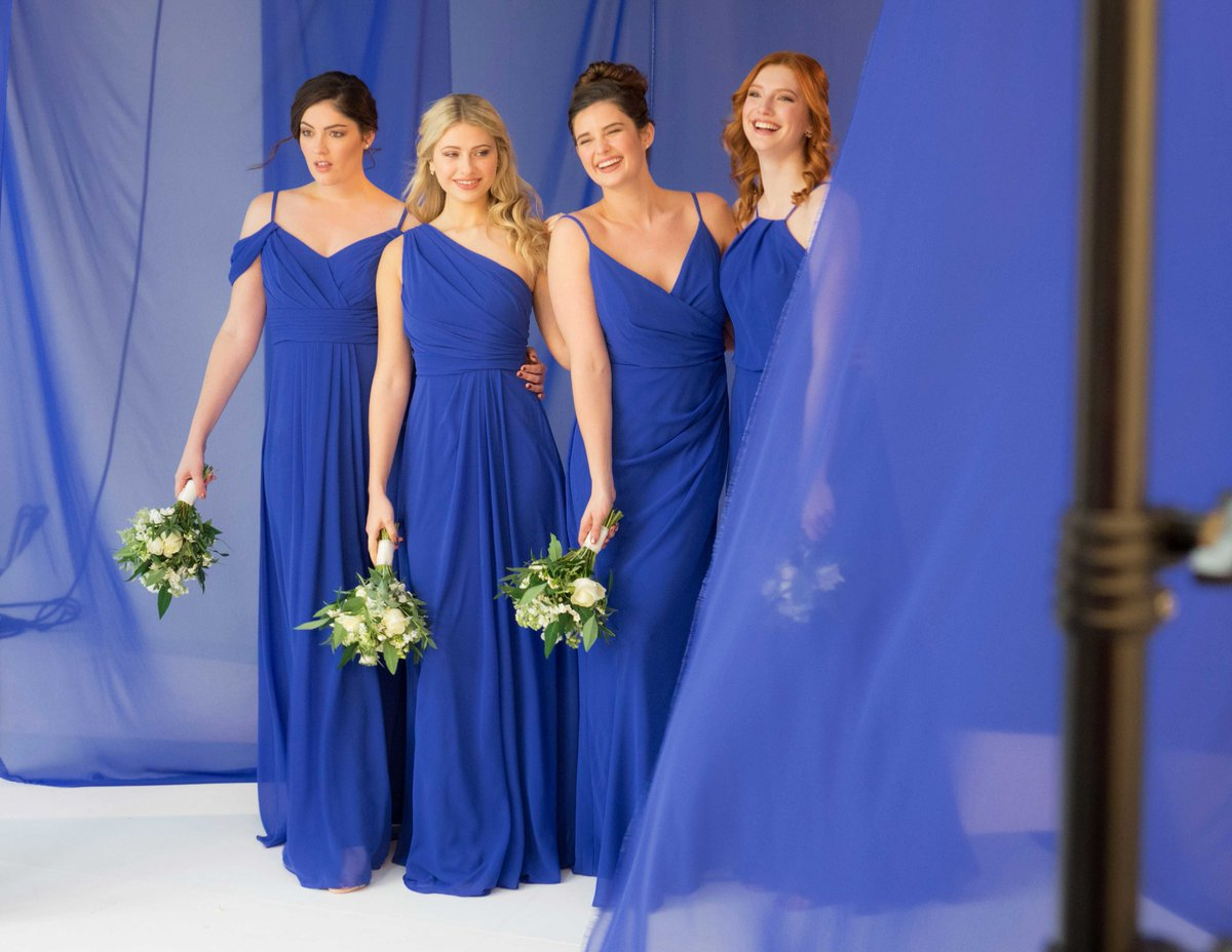Wed2b On Twitter Your Bridesmaids Are Going To Love Our Figure Flattering Infinite Dresses Shown Here In Royal Blue All Of