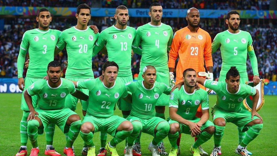 ALLEMAGNE 🆚 ALGÉRIE, huitième de finale de la Coupe du monde 2014.  Score final : 2️⃣-1️⃣ (a.p)  Ils ont failli battre l'Allemagne... mais les Algériens se sont finalement inclinés. On retiendra les prestations exceptionnelles des deux gardiens Manuel Neuer et Raïs M'Bolhi.