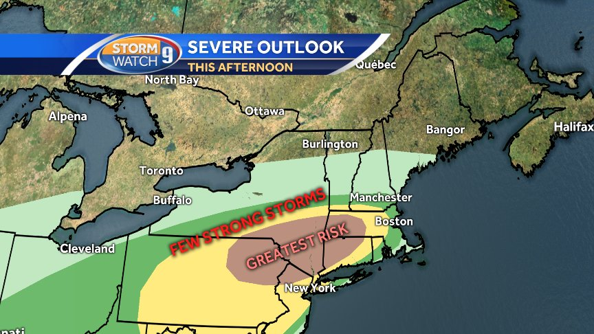 Wmur News 9 Weather On Twitter Be Weather Aware This Afternoon